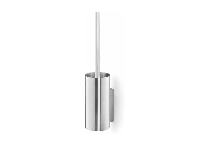 Toiletborstelset Zack Scala 43x12,3 cm Geborsteld RVS