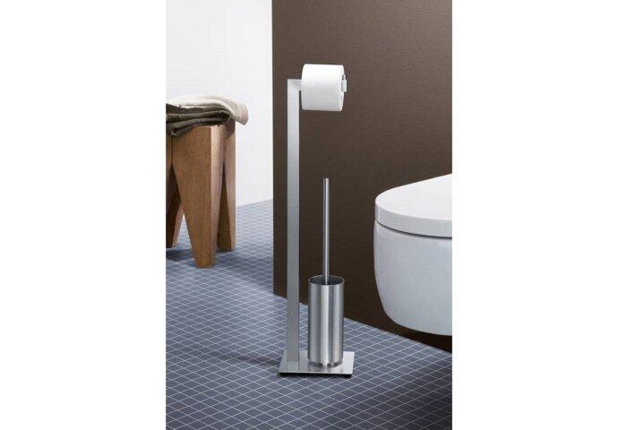 Toiletbutler Zack Linea 73x16,8 cm Geborsteld RVS