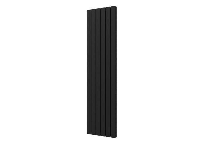 Designradiator Plieger Cavallino Retto Dubbel 1162 Watt Middenaansluiting 180x45 cm Donkergrijs Structuur