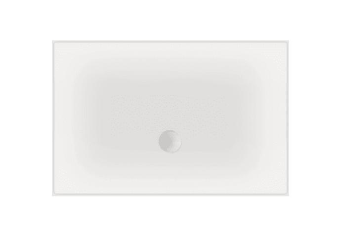 Luxe zelfdragende douchevloer Flat 120 x 100 x 3,5 cm