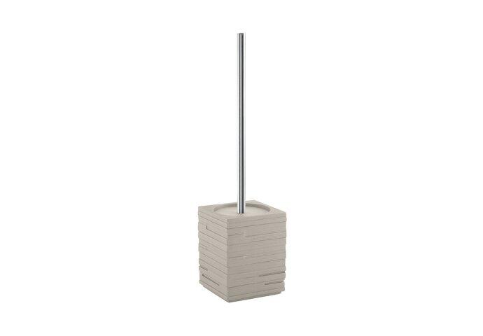 Toiletborstelhouder Sapho Quadrotto Vrijstaand 38x9.5 cm Polyresin Beige