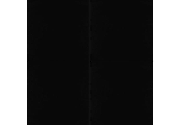 Vloertegel zwart 60x60cm gepolijst voorkant