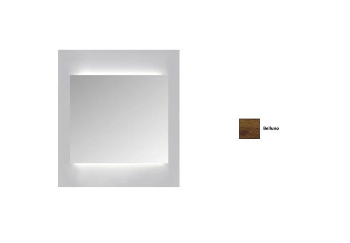 Spiegelkast Sanicare Qlassics Ambiance 60 cm 1 Deur Belluno Eiken