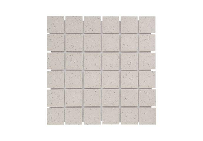Mozaïek London 30.9x30.9cm Onverglaasd Porselein, Mat Antislip En Wit Spikkels (Prijs Per 0.96 m2)