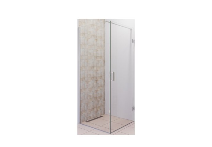 Douchecabine Boss & Wessing Moderna 80x80 cm Anti-Kalk Chroom