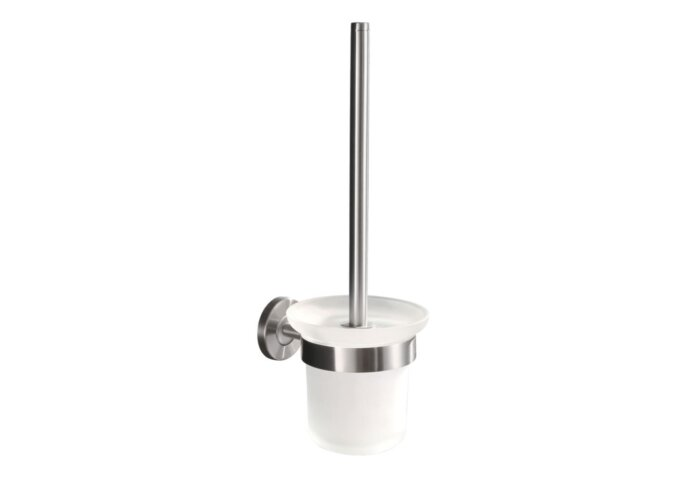 Wiesbaden toiletborstelhouder met borstel RVS 304