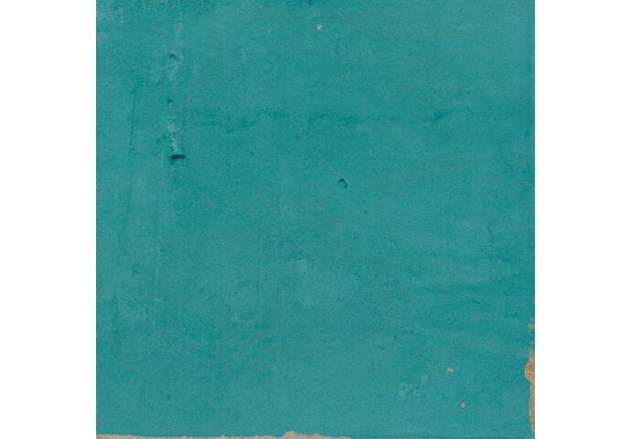 Vtwonen Craft Wandtegel Turquoise Glossy 12,5x12,5 cm (doosinhoud: 0,42 m2)