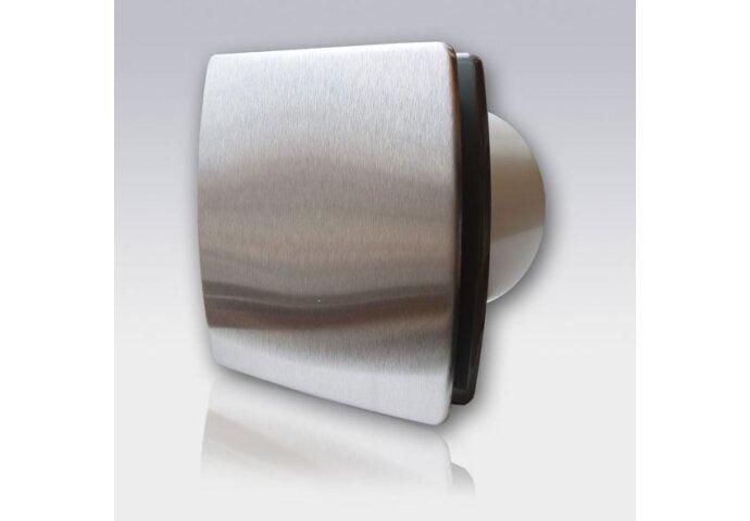 VENTILATOR INOX  T100HTi Timer/Hygrostaat (Ø 100MM)