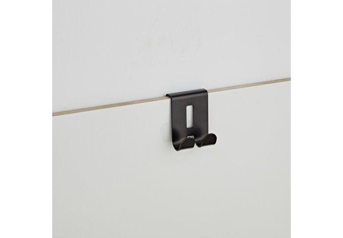 Raamwisser Boss & Wessing Nero Messing Mat Zwart 25 cm