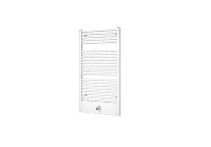 Handdoekradiator Locco 775 x 600 mm Donker grijs structuur