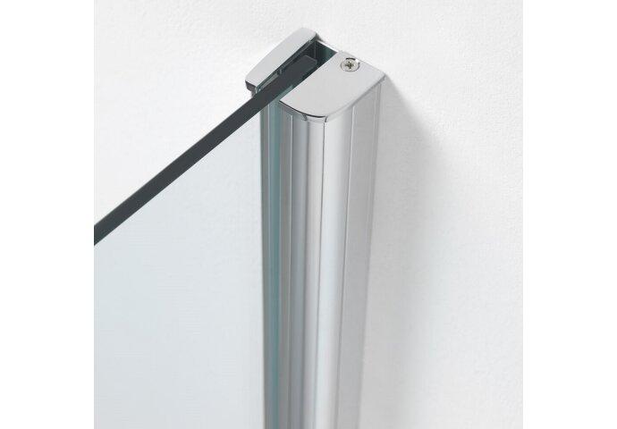 Inloopdouche Get Wet by Sealskin Impact Type A1 120x195 cm Chroom/Zilver Helder glas