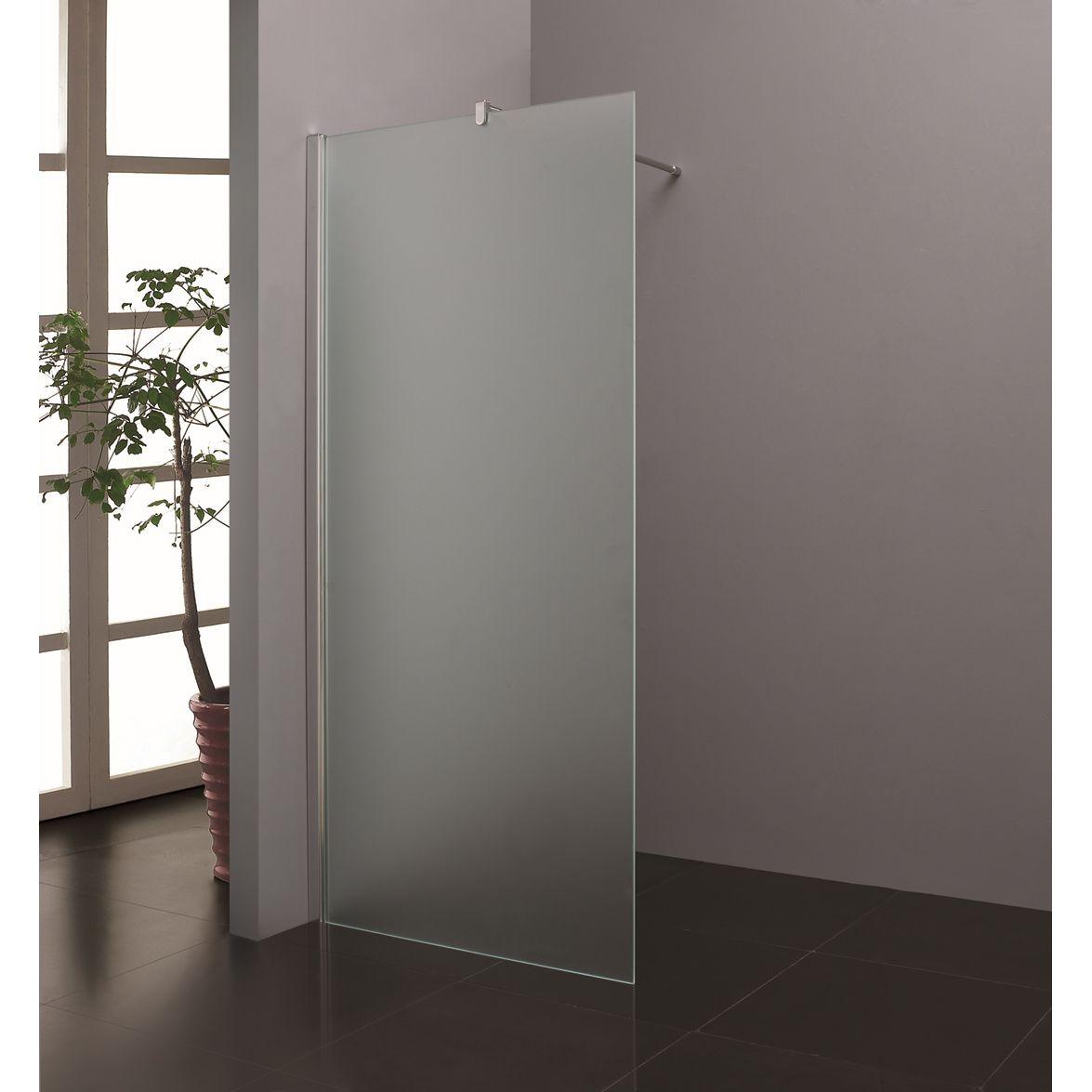 Inloopdouche met gemetselde muur ontwerp inspiratie voor uw badkamer meubels thuis - Hoe kleed je een witte muur ...