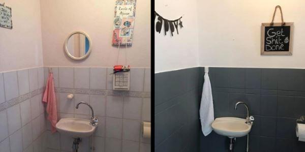 Nieuws restyle uw toiletruimte met simpele aanpassingen - Verf wc ...
