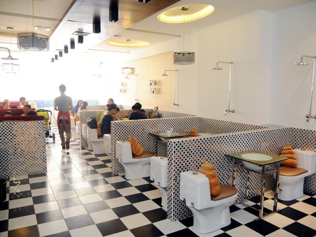 Nieuws 2e leven van een wc pot for Accessoire de restaurant