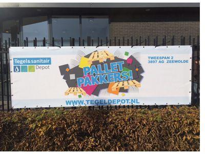 Pallet Pakkers Banner